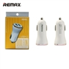 Remax Dolfin RCC206 2USB Car Charger Rose Gold