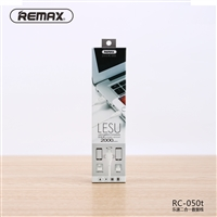 Remax 2 in 1 RC-050t Lightning&Micro Compatibility 2m White