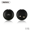 Remax Rc-099t Retractable 2 In 1 Usb Cable Lighting & Micro Black
