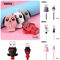 Remax  RC-106i Fortune Series Lighning Cable Pink
