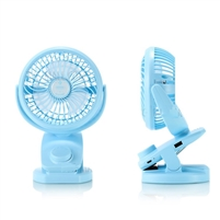 Remax F21 Rechargeable Cooling Fan Blue