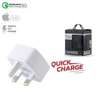 Remax RP-U114 Single USB Fast Charger Adapter White 5V/3A