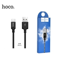 Hoco X14 Fast Charging Type-C Cable 2M Black