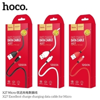 Hoco X27 Excellent Charge Micro USB Cable White
