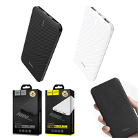 Hoco B37 5000mAh Ultra Thin Persistent Mobile Powerbank White