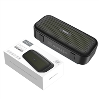 HOCO BS23 Elegant Rhyme Portable Wireless Bluetooth Speaker with Mic White