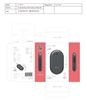 Smartek ST-HW100 Powerbank 4400mAh With Pocket Heater 5V/1A Black