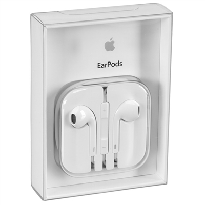 Original iPhone 6S/6/5S/5 Stereo Earpods Retail Pack