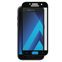 Galaxy A3 (2017) A320F Tempered Glass Full Cover Black