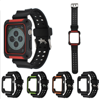 Apple Watch 38/40 Armor Sports Silicon Strap Red