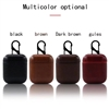 Apple AirPods Leather Protective Case Brown
