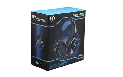 Bluefinger GM-1 High-Studio Wired Gaming Headphones