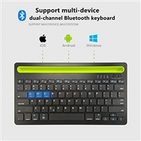 RK908 Dual Channel Bluetooth Keyboard For Mobile/Tablets