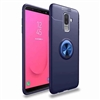 Galaxy A6 (2018) Autofocus 360 Shockproof Case With Ring Holder Blue