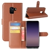 Galaxy A6 Plus (2018)/J8 (2018) Wallet Case Brown