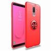 Galaxy J6 (2018) Autofocus 360 Shockproof Case With Ring Holder Red