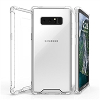 Galaxy Note 8 N950F Transparent Shockproof Gel Case