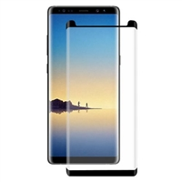 Galaxy Note 8 Full Glue Tempered Glass 3D Black