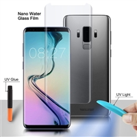 Galaxy S10 Plus Nano Liquid UV Light 3D Full Glue Tempered Glass