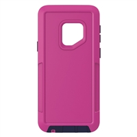 Galaxy S9 Hard Case Design HeavyDuty Defender rose