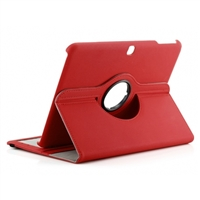 Galaxy Tab A 10.1'' (2016) T580 Wallet Case Red