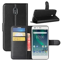 Google Pixel 3 XL Wallet Case Black