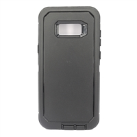Galaxy Note 8 N950F Hard Case Design HeavyDuty Defender Black