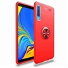 Huawei P Smart (2019) Autofocus 360 Shockproof Case With Ring Holder Red