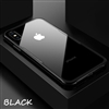 iPhone 5s Shockproof Tempered Glass Case Black