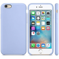 iPhone 6S/6 Liquid Silicone Case Purple (With Packaging)