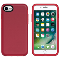 iPhone 7/8 Hard Case HeavyDuty Symmetry Design Red