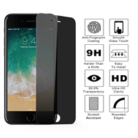 iPhone 7/8 Plus 3D Full TempeRed Glass Privacy Black