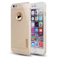 iPhone 7 Carborn Fiber Texture TPU Case Gold