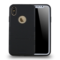 iphone XS/X extra thin 2 in 1 case black