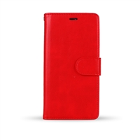 iPhone XS/X Wallet Case Red