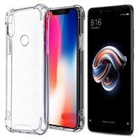 iPhone XS Max Transparent Shockproof Gel Case