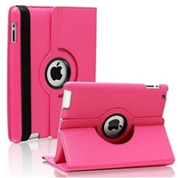 iPad Mini 1/2/3 Rose 360 Rotating Stand Wallet Case