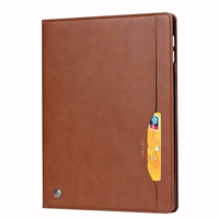 New iPad Pro 11'' 2018 Wallet Case With Card Holder Brown