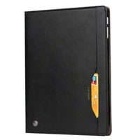 New iPad Pro 12.9'' 2018 Wallet Case With Card Holder Black