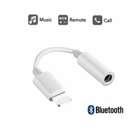 iPhone X/8/7 Lightning to 3.5mm Bluetooth Headphone Adapter