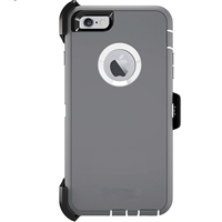 iPhone XS/X HeavyDuty Defender Hard Case Design Grey