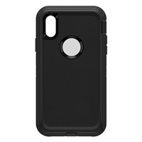 iPhone XR HeavyDuty Defender Design Black