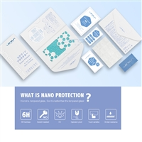 Lensun Shatter-Proof Nano Protector For iPhone XS/X