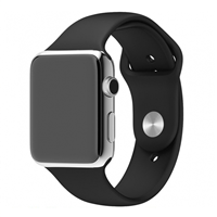 New Generation Apple Watch 42/44mm Sports Band Black