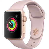 New Generation Apple Watch 42/44mm Sports Band Pink