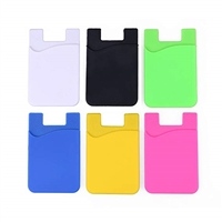 AA-0210 Phone Card Holder Adhesive Pouch (Mix Color Of 5)