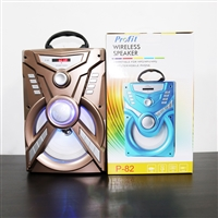 Profit P-85 Wireless Bluetooth Speaker 6W Gold