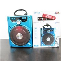 Profit P-88 Wireless Bluetooth Speaker 6W Blue