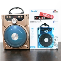 Profit P-88 Wireless Bluetooth Speaker 6W Gold