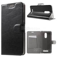 Xiaomi Redmi 4 / 4X Wallet Case Black